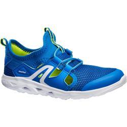 PW 500 Fresh Children's Fitness Walking Shoes - Blue/Green