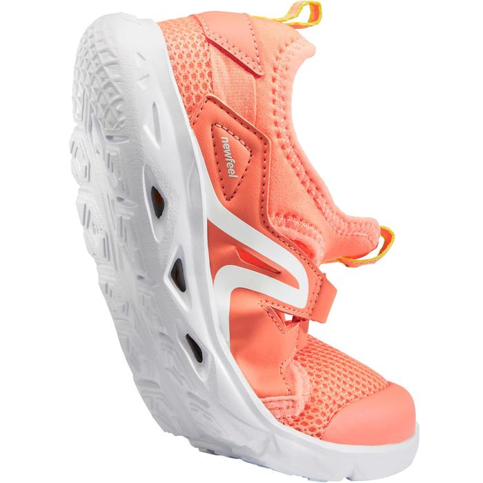 Zapatillas de Marcha Deportiva Newfeel PW 500 Fresh niño coral
