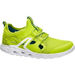 PW 500 Fresh Children's Fitness Walking Shoes - green