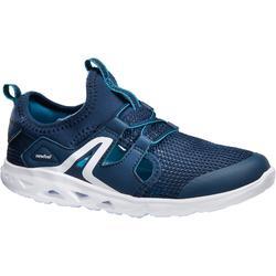Kindersneakers voor sportief wandelen PW 500 Fresh marineblauw