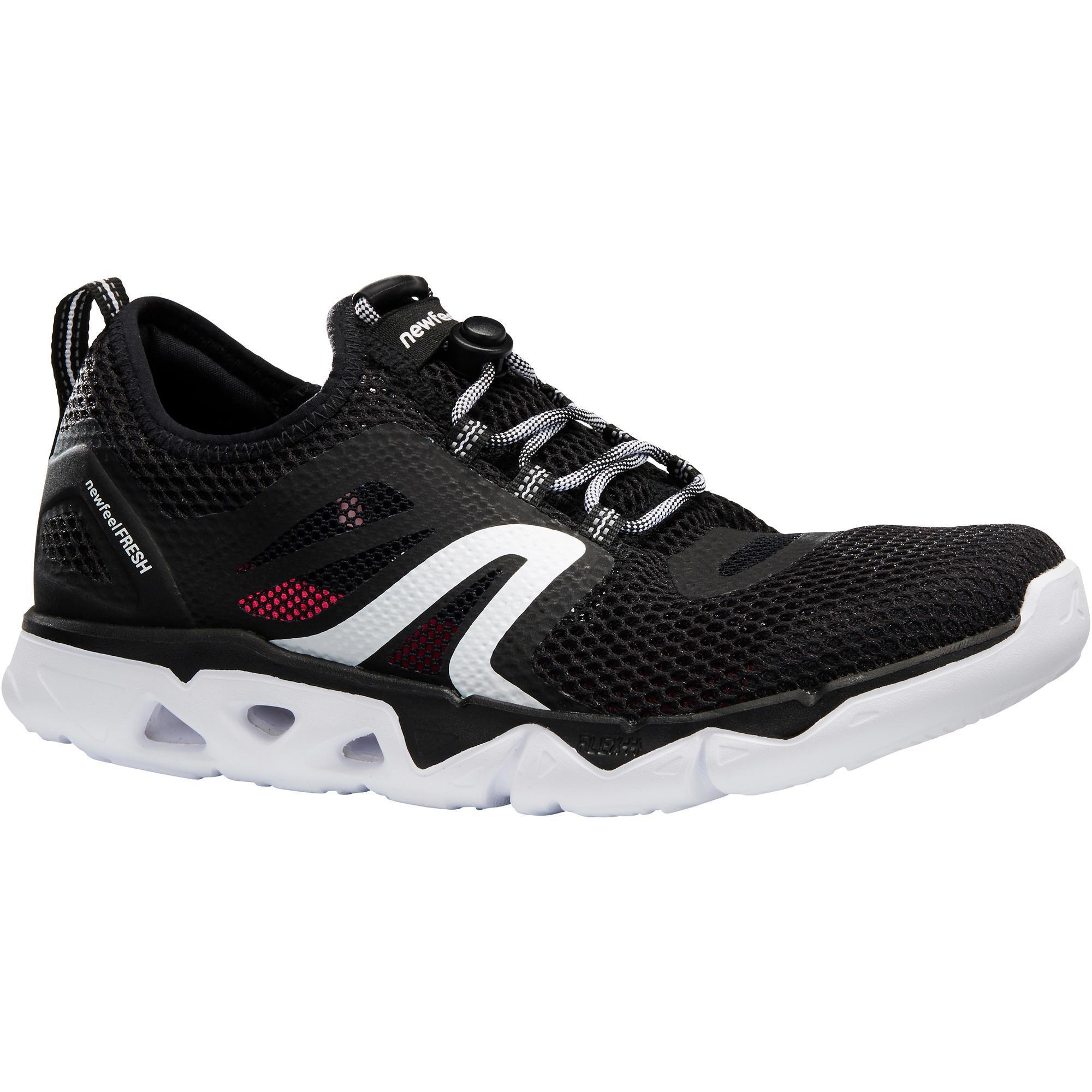 Newfeel Damessneakers voor sportief wandelen PW 500 Fresh