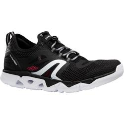 PW 500 Fresh Women's Fitness Walking Shoes - Black/White