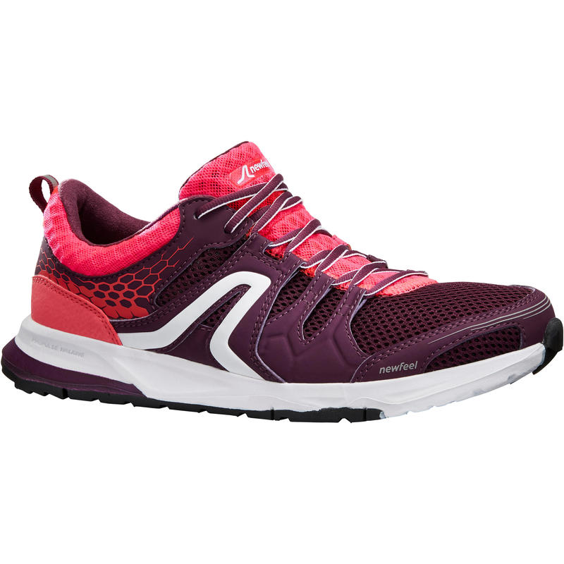 Chaussures marche sportive femme PW 240 violet/rose