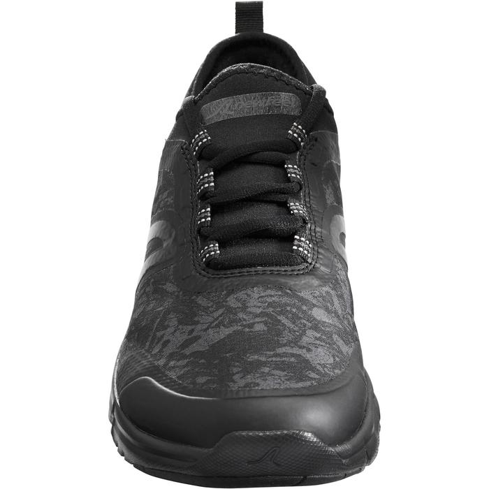 Waterdichte damessneakers voor sportief wandelen PW 580 RespiDry zwart