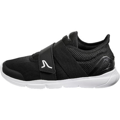 Soft 180 Strap women's fitness walking shoes - black/white