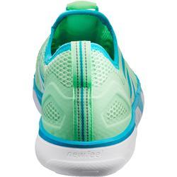 PW 500 女士健走鞋- 綠色。