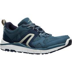 HW 500 Mesh Men's Fitness Walking Shoes - grey/blue