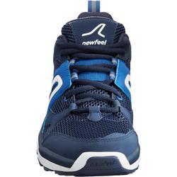 Zapatillas de marcha deportiva para hombre HW 500 mesh azules marino