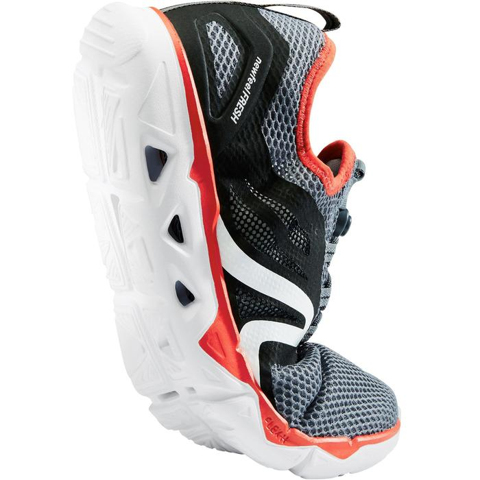 PW 500 Fresh Men's Fitness Walking Shoes - Grey/Red