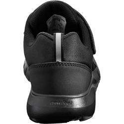 Chaussures marche enfant Soft 140 noir / noir