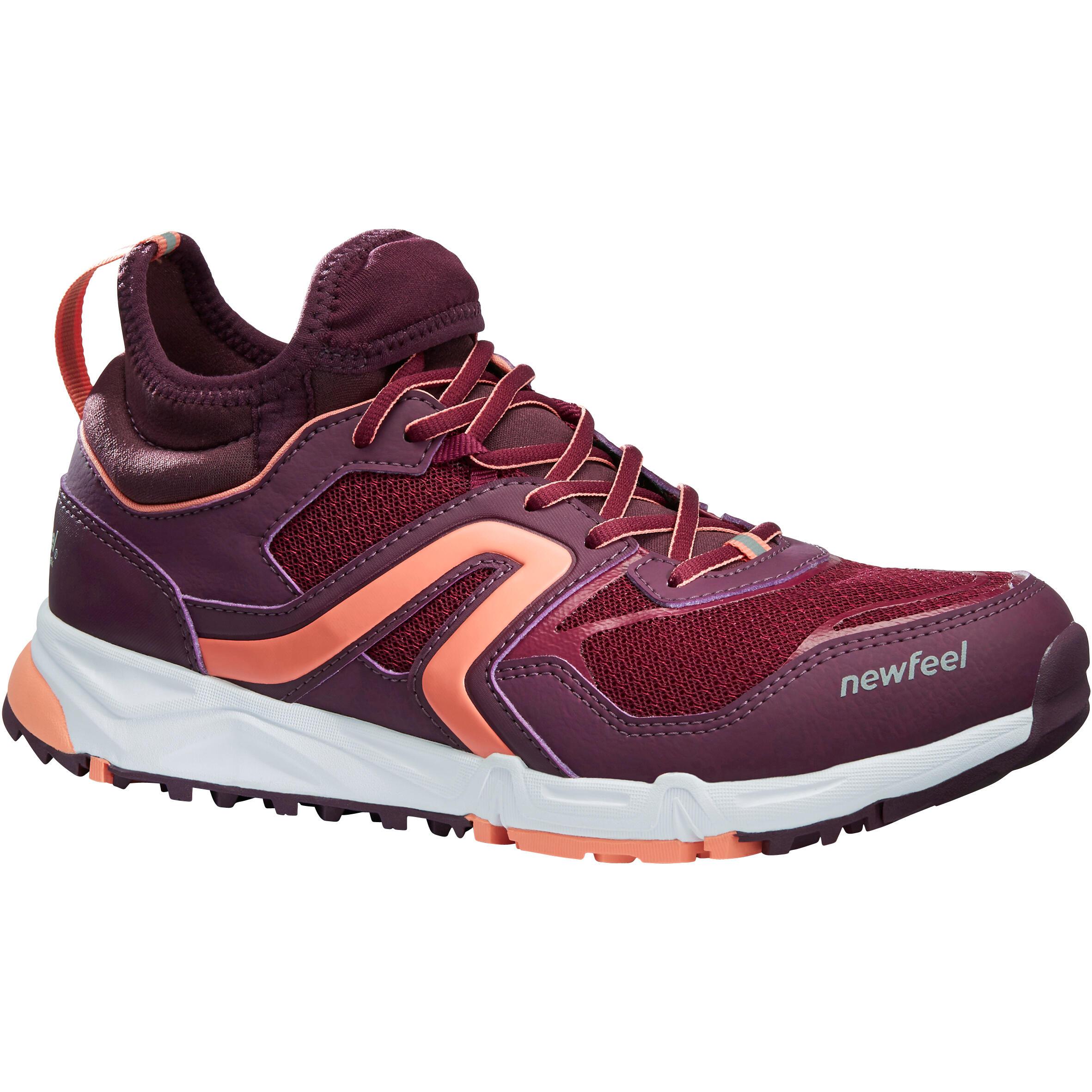 Newfeel Nordic walking schoenen voor dames NW 500 Flex-H pruim