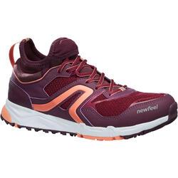 Zapatillas Marcha Nórdica Newfeel NW 500 Flex-H Mujer Violeta