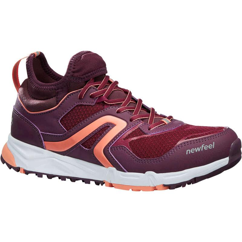 NORDIC WALKING SHOES Hiking - NW 500 Flex-H - plum NEWFEEL - Outdoor Shoes