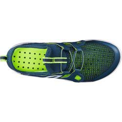 Sneakers voor kinderen PW 500 Fresh grijs/groen