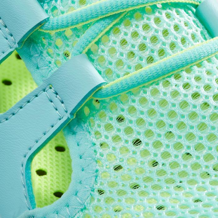 Calçado de caminhada desportiva Criança PW 500 Fresh Turquesa