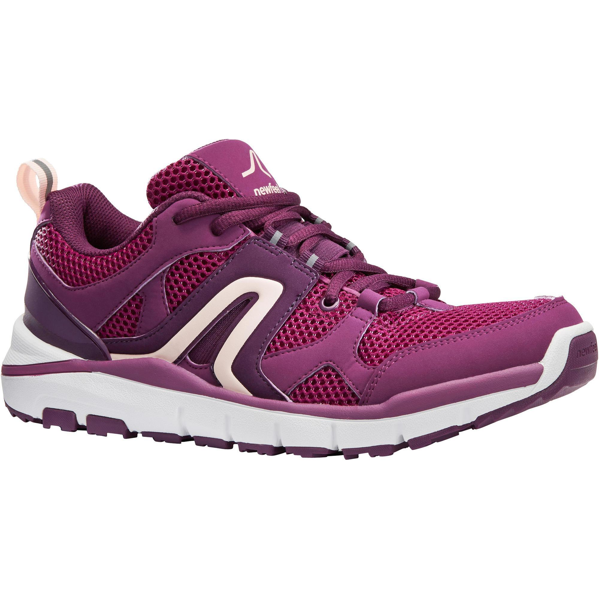 Walkingschuhe HW 500 Mesh Damen violett | Schuhe > Sportschuhe > Walkingschuhe | Violett | Newfeel