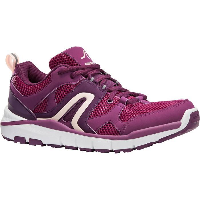 Walkingschuhe HW 500 Mesh Damen violett
