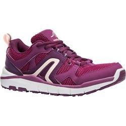 女款網眼健走運動鞋HW 500 - 紫色