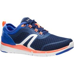 Soft 540 Mesh Women's Fitness Walking Shoes - Navy/Coral