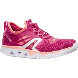 PW 500 Fresh Women's Fitness Walking Shoes - Coral/Pink