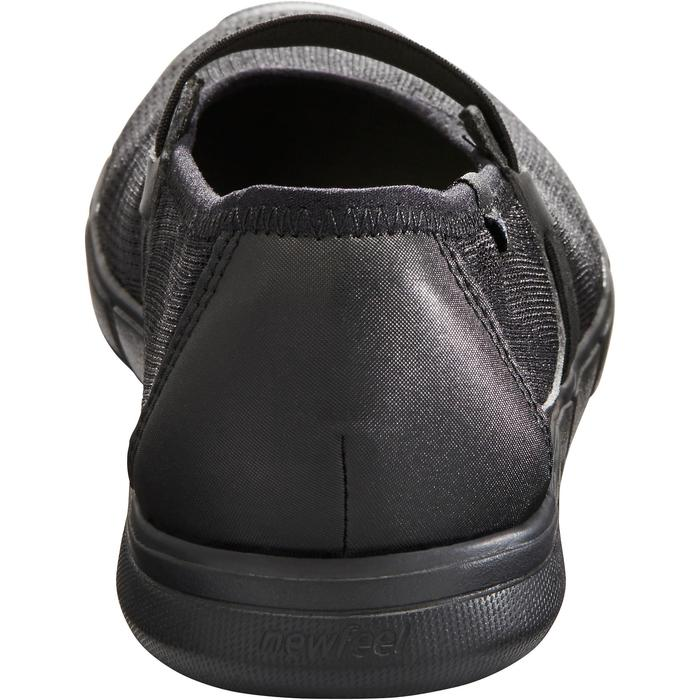 Ballerina's sportief wandelen dames Soft 520 zwart