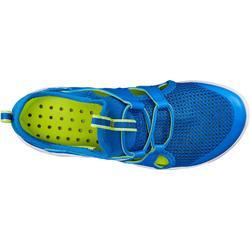 兒童款健走鞋PW 500 Fresh-藍色/綠色