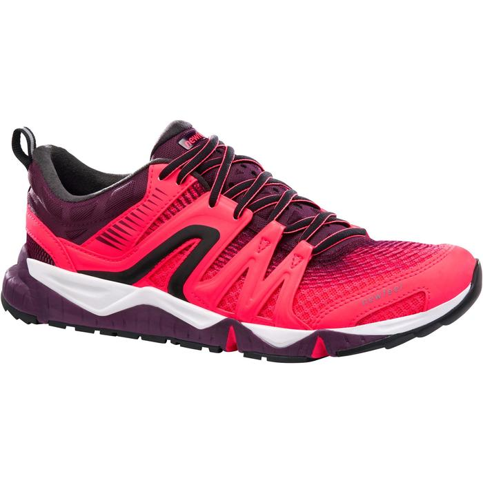 Damessneakers voor sportief / snelwandelen PW 900 Propulse Motion roze