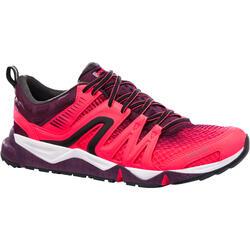 Damessneakers voor sportief wandelen PW 900 Propulse Motion roze