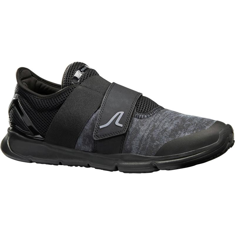 Chaussures marche urbaine homme Soft 180 Strap noir