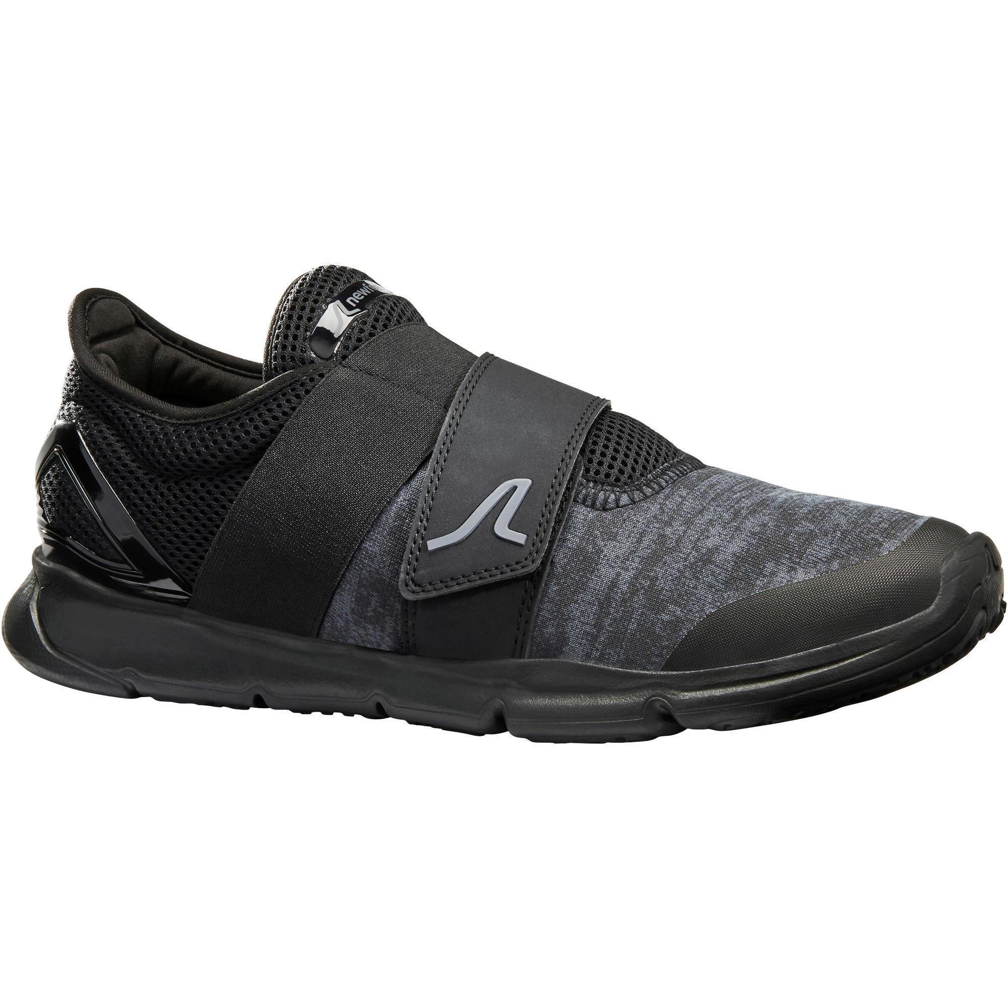 Walkingschuhe Soft 180 Strap Herren schwarz | Schuhe > Sportschuhe > Walkingschuhe | Schwarz | Newfeel