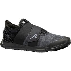 Zapatillas Caminar Soft 180 Strap Hombre Negro