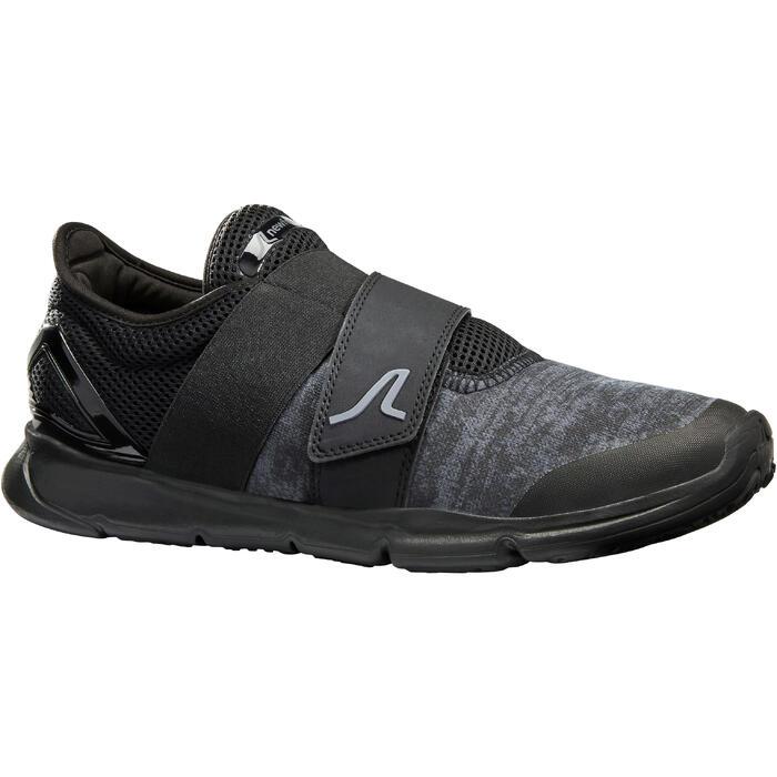 Zapatillas de marcha deportiva para hombre Soft 180 Strap negras