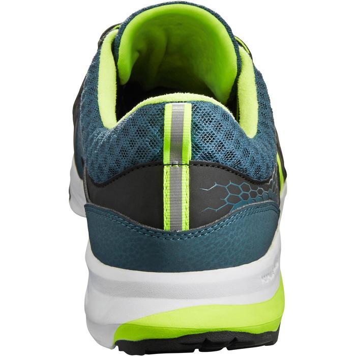 Zapatillas de marcha atlética para hombre PW 240 negras / amarillas