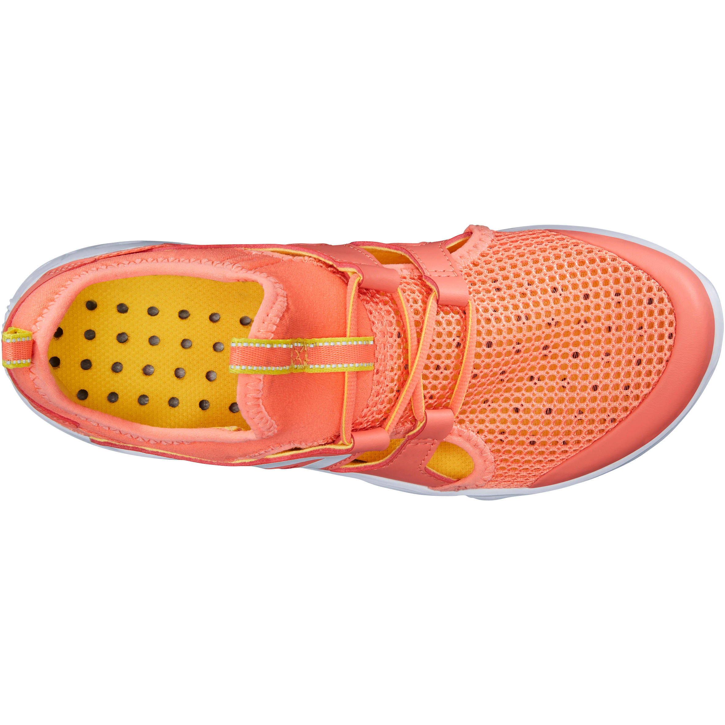 Walking shoes for kids PW 500 fresh - Coral