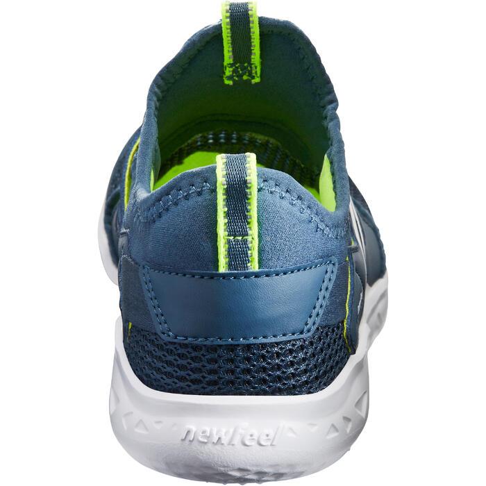 兒童款健走鞋PW 500 Fresh-灰色/綠色