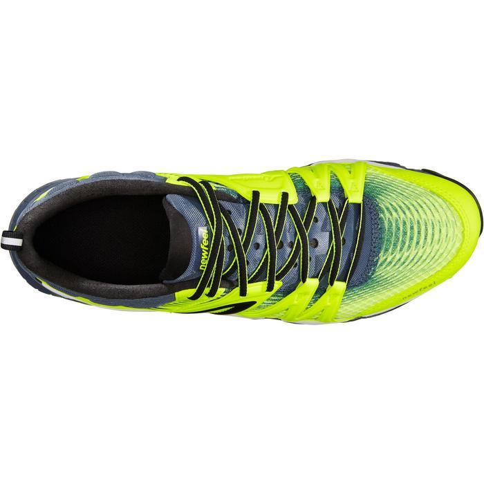 Herensneakers voor sportief / snelwandelen PW 900 Propulse Motion fluogeel