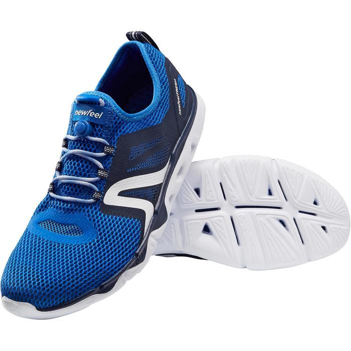 Herenschoenen sportief wandelen PW 500 Fresh blauw