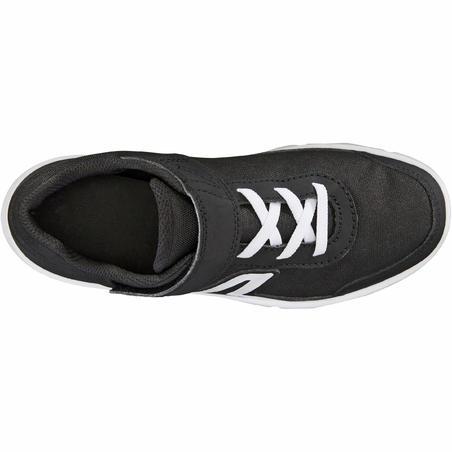 Chaussures marche enfant PW 100 noir / blanc