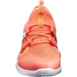 兒童款健走鞋Fresh PW 500-珊瑚紅