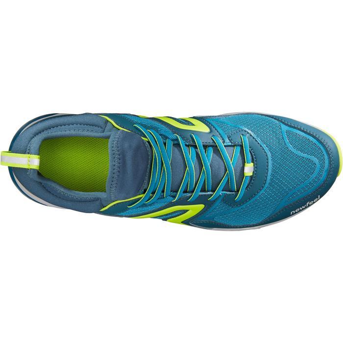Nordic walking schoenen voor heren NW 500 Flex-H pauwblauw / anijsgroen