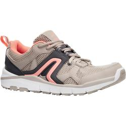 HW 500 Women's Fitness Walking Shoes - Beige