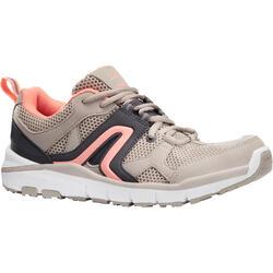 女款健走鞋HW 500 - 米色