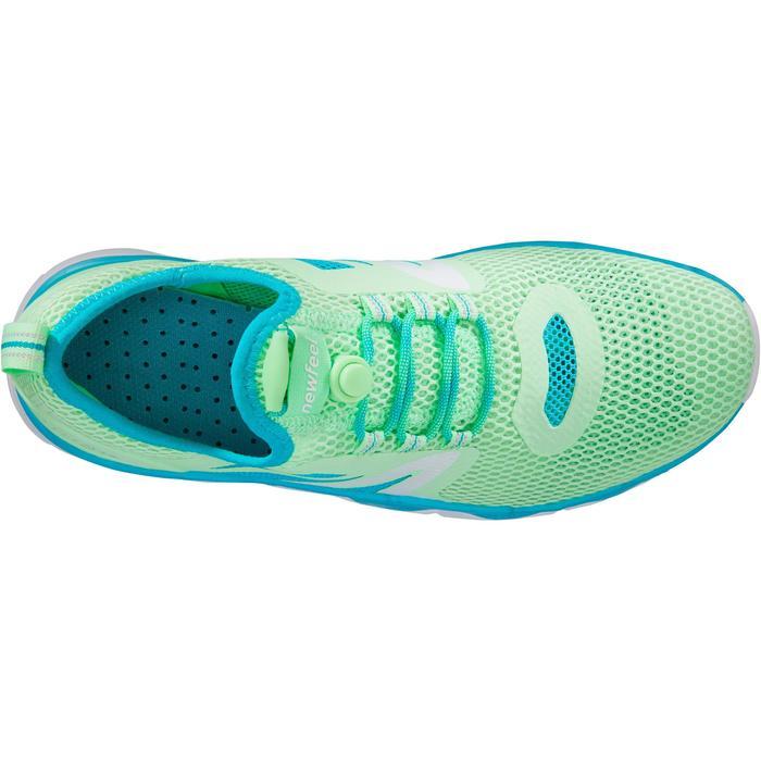 Zapatillas Caminar Newfeel PW 500 Fresh Mujer Verde