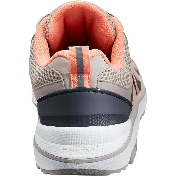 Damessneakers voor sportief wandelen HW 500 mesh beige