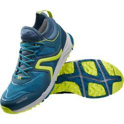 Chaussures de marche nordique homme NW 500 Flex-H bleu paon / vert anis