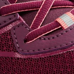 Nordic walking schoenen voor dames NW 500 Flex-H pruim