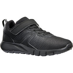 Soft 140 kids' walking shoes black/black