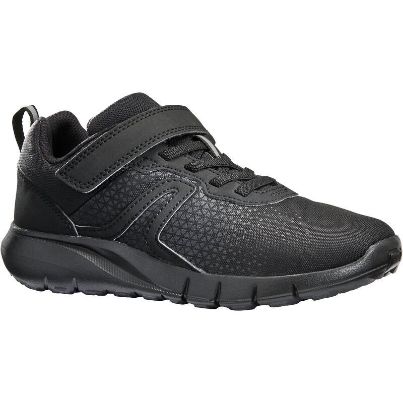 Kindersneakers voor wandelen Soft 140 zwart / zwart