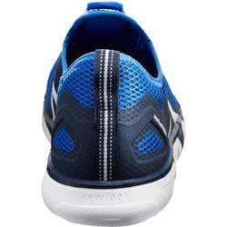 Herensneakers voor sportief wandelen PW 500 Fresh blauw