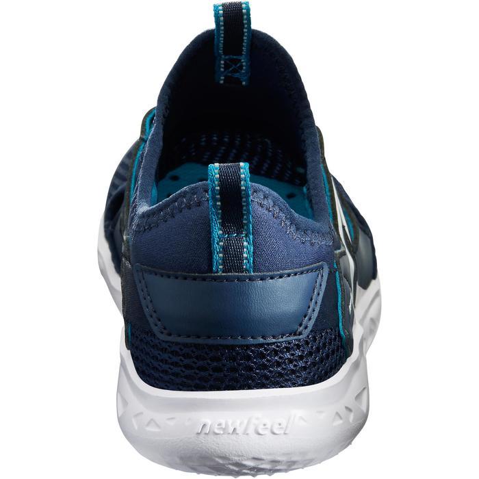 Zapatillas Caminar Newfeel PW 500 Fresh Niños Azul Marino